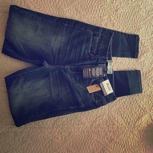 Mudd juniors size 1 high rise jean leggings.